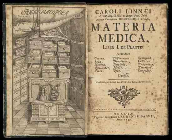 Carl Linnaeus' Materia Medica