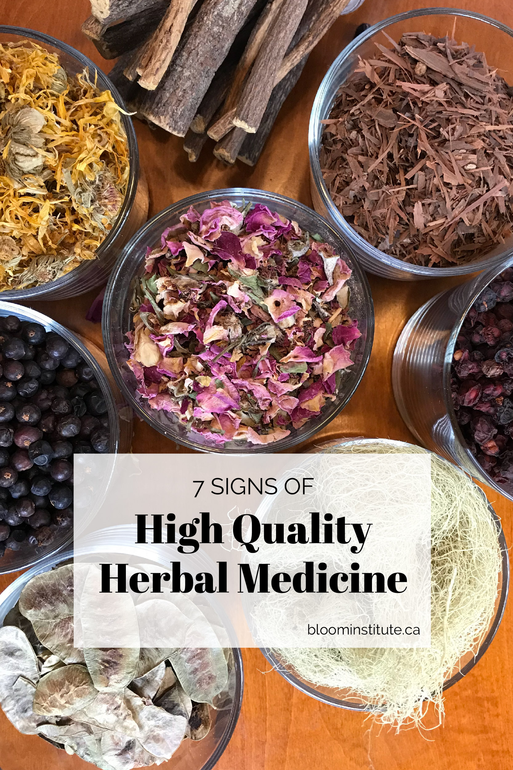signs of high quality herbal medicine pin